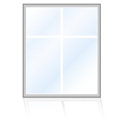 Veka-Fenster-Rechteckfenster-einfaches-sprossenkreuz