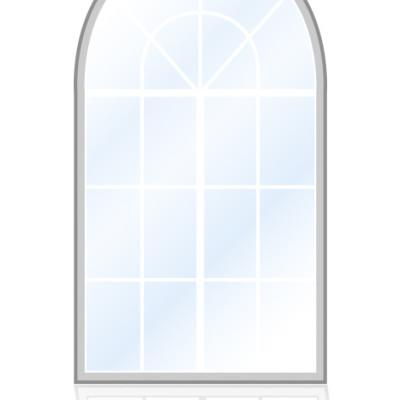 Veka-Fenster-Rundbogenfenster-aufgehende-Sonne
