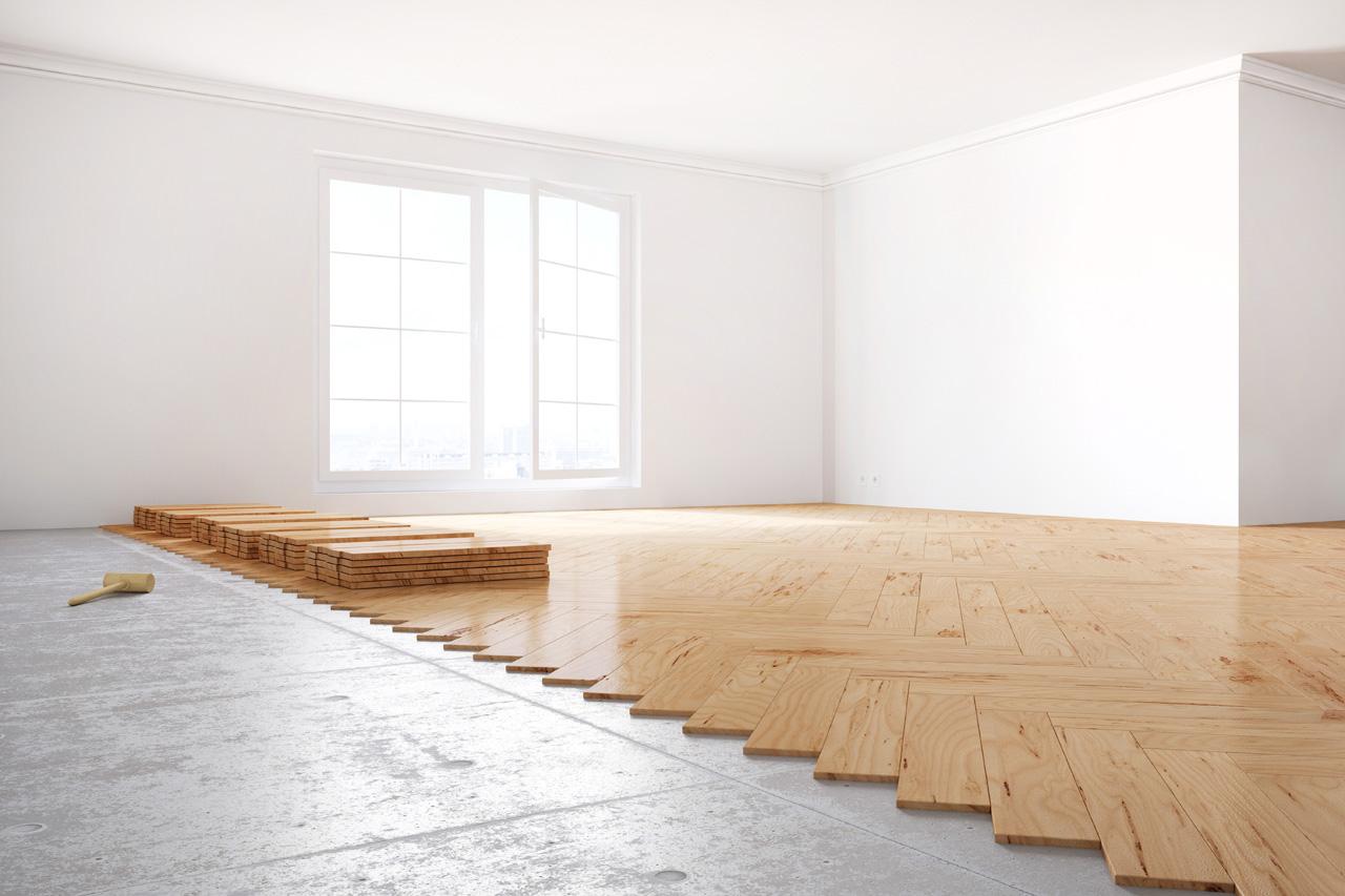 Fußboden Laminat Pakett Holzboden