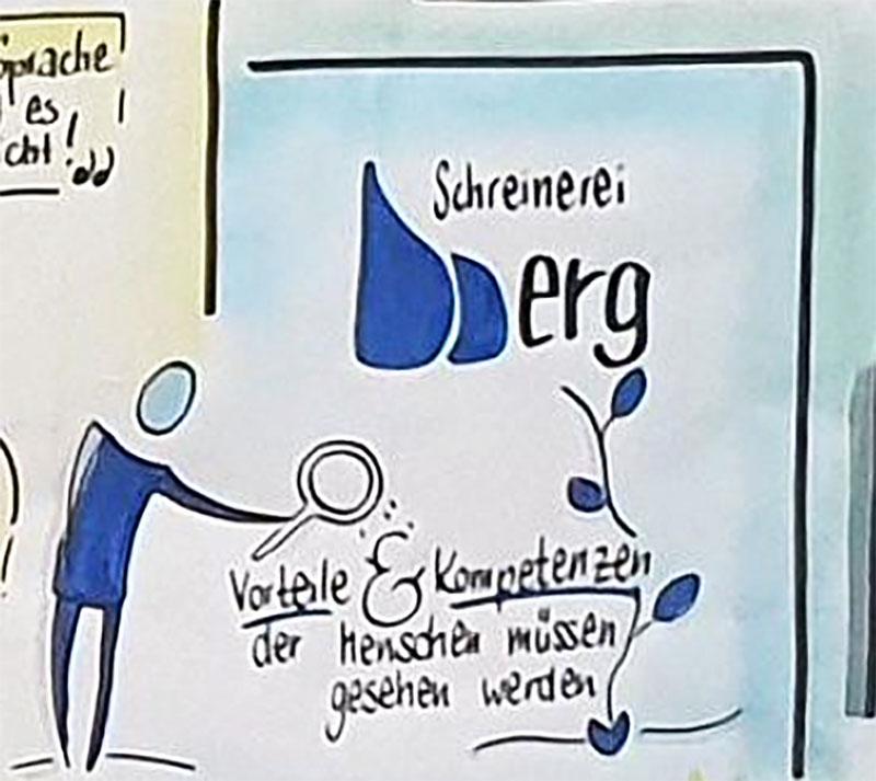 Thomas Berg Tischlerei Interview Talk Runde Fluechtlinge
